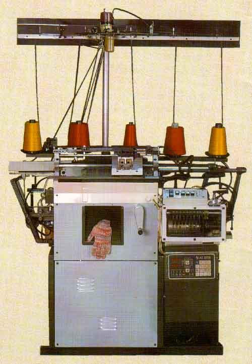 Вязание станок для рабочих перчаток